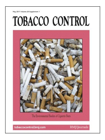 "Weblink: Alle Artikel der Ausgabe ""The Environmental Burden of Cigarette Butts"" des Magazins Tobacco Control (Mai 2011) zur freien Ansicht"