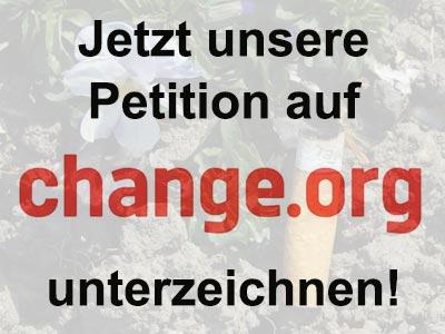 Weiterleitung zur Petition