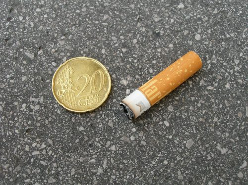 Zigarettenpfand; Filterpfand